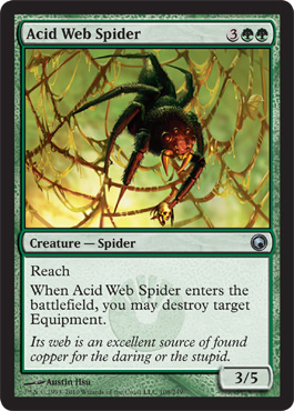 Acid Web Spider | Magic: The Gathering Card