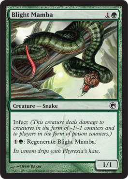 Blight Mamba | Magic: The Gathering Card
