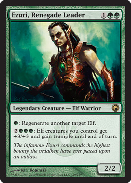 Ezuri, Renegade Leader | Magic: The Gathering Card