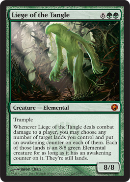 Liege of the Tangle | Magic: The Gathering Card