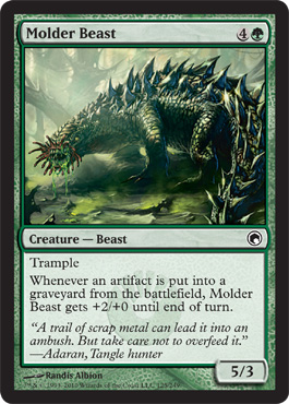 Molder Beast | Magic: The Gathering Card