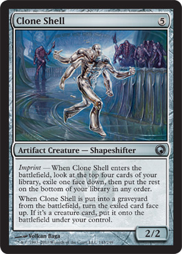 Clone Shell | Magic: The Gathering Card