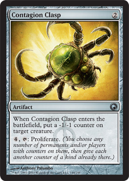 Contagion Clasp | Magic: The Gathering Card