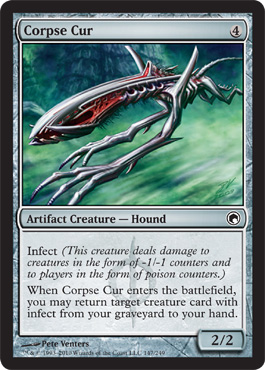 Corpse Cur | Magic: The Gathering Card