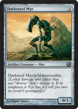 Darksteel Myr | Magic: The Gathering Card