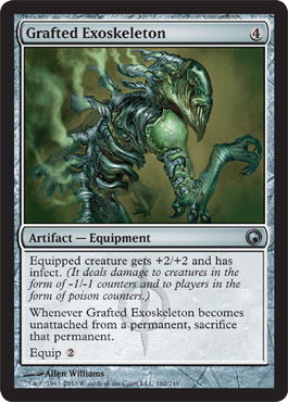Grafted Exoskeleton | Magic: The Gathering Card