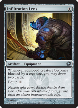 Infiltration Lens | Magic: The Gathering Card