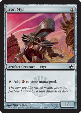 Iron Myr | Magic: The Gathering Card