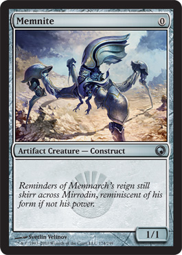 Memnite | Magic: The Gathering Card