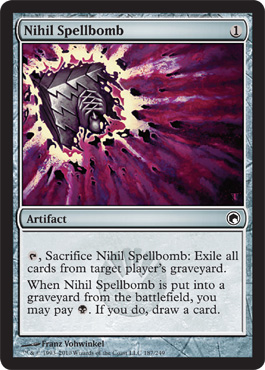 Nihil Spellbomb | Magic: The Gathering Card