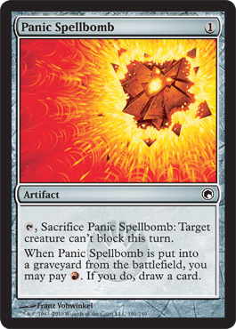 Panic Spellbomb | Magic: The Gathering Card