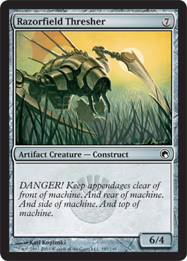 Razorfield Thresher | Magic: The Gathering Card