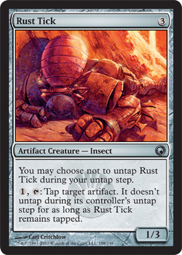Rust Tick | Magic: The Gathering Card