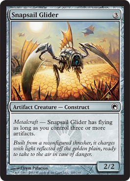 Snapsail Glider | Magic: The Gathering Card