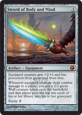 Sword of Body and Mind | Magic: The Gathering Card