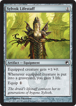 Sylvok Lifestaff | Magic: The Gathering Card