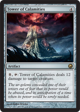 Tower of Calamities | Magic: The Gathering Card