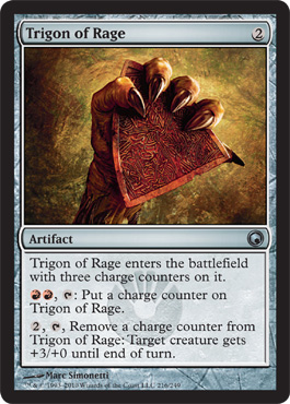 Trigon of Rage | Magic: The Gathering Card
