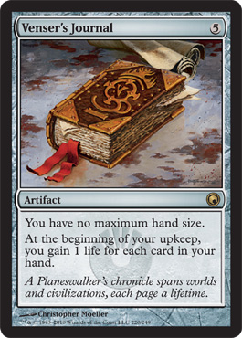 Venser's Journal | Magic: The Gathering Card