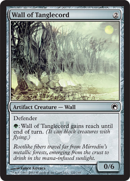 Wall of Tanglecord | Magic: The Gathering Card