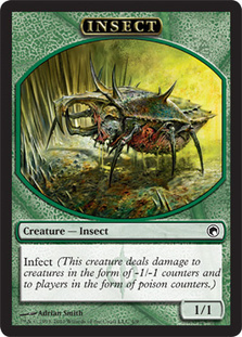 Insect Token | Magic: The Gathering Card