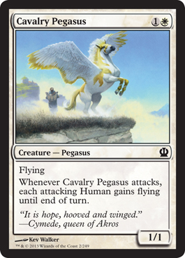 Cavalry Pegasus | Magic: The Gathering Card