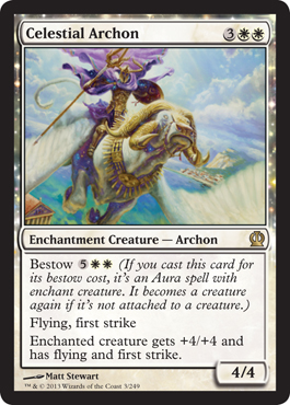 Celestial Archon | Magic: The Gathering Card