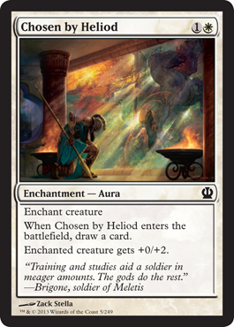 Chosen by Heliod | Magic: The Gathering Card