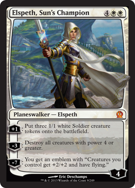 Elspeth, Sun's Champion in Theros