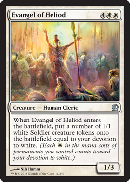 Evangel of Heliod | Magic: The Gathering Card