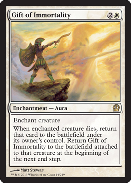 Gift of Immortality | Magic: The Gathering Card