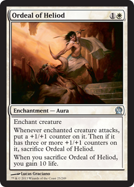 Ordeal of Heliod | Magic: The Gathering Card