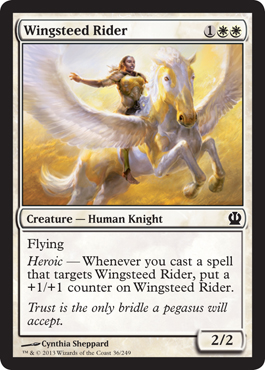 Wingsteed Rider | Magic: The Gathering Card