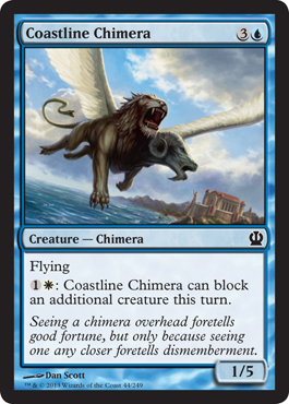 Coastline Chimera | Magic: The Gathering Card