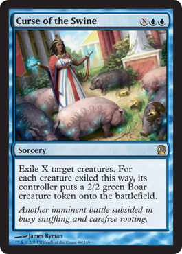 Curse of the Swine | Magic: The Gathering Card