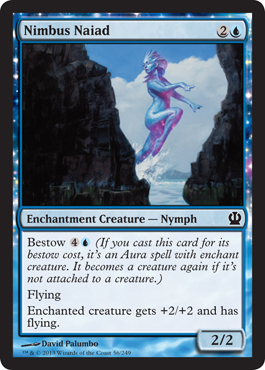 Nimbus Naiad | Magic: The Gathering Card