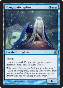 Prognostic Sphinx | Magic: The Gathering Card