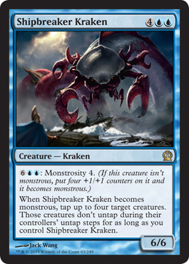 Shipbreaker Kraken | Magic: The Gathering Card
