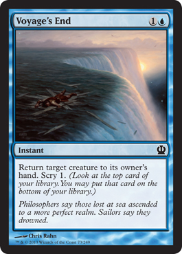 Voyage's End | Magic: The Gathering Card