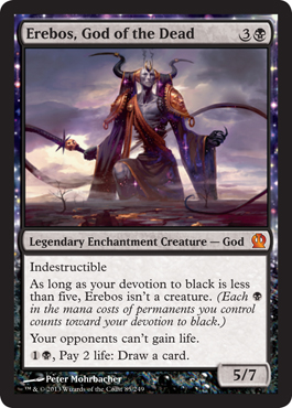 Erebos God Of The Dead Theros Magic The Gathering At