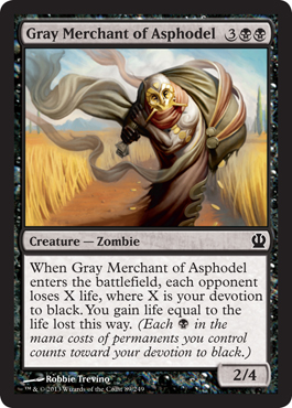 Gray Merchant of Asphodel | Magic: The Gathering Card