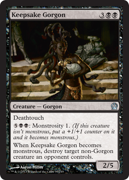 Keepsake Gorgon | Magic: The Gathering Card