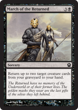 March of the Returned | Magic: The Gathering Card