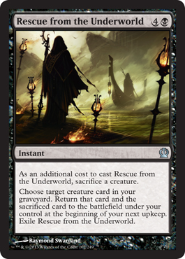 Rescue from the Underworld | Magic: The Gathering Card