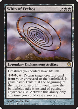 Whip of Erebos | Magic: The Gathering Card