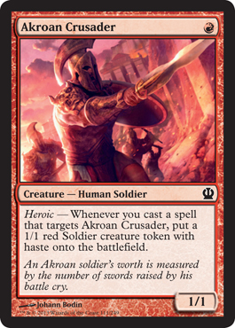 Akroan Crusader | Magic: The Gathering Card