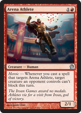 Arena Athlete | Magic: The Gathering Card