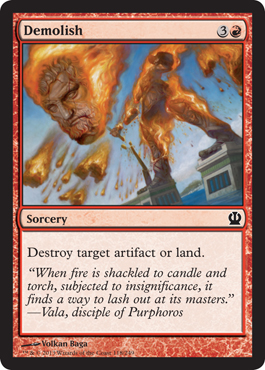 Demolish | Magic: The Gathering Card
