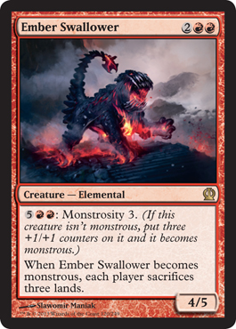 Ember Swallower | Magic: The Gathering Card