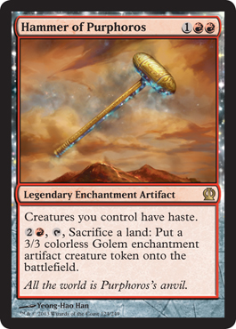 Hammer of Purphoros | Magic: The Gathering Card